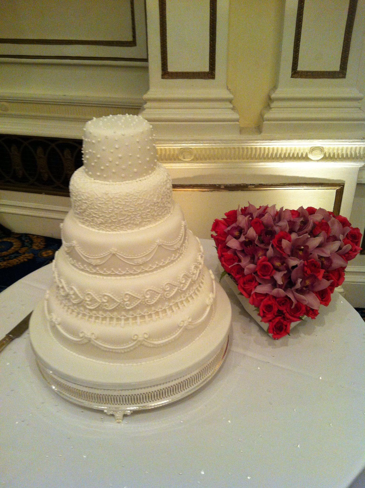 5 Tier Wedding Cake   Cakes   Pinterest   Tier wedding cakes ...
