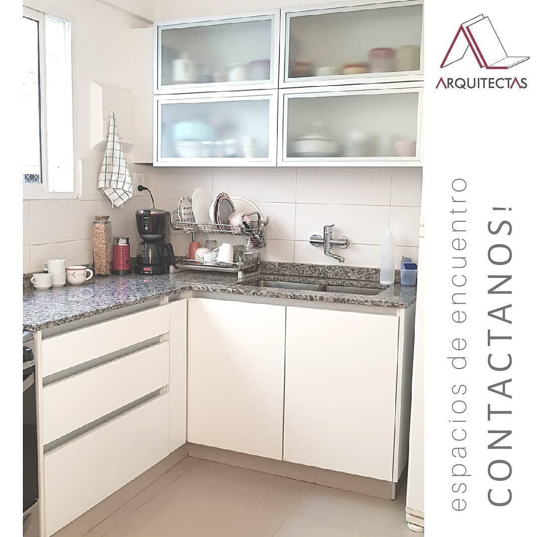 Cambio Integral De Muebles De Cocina En Melamina Blanca Con