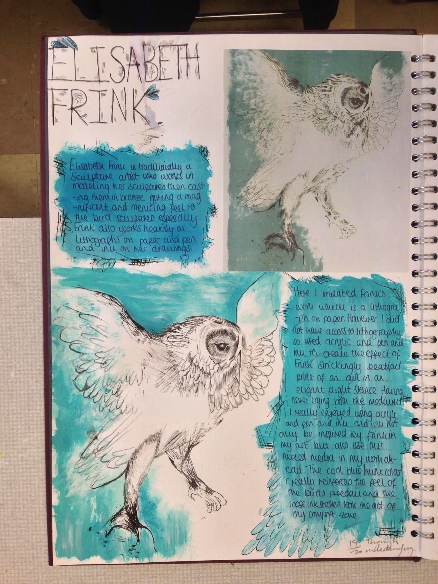 Pin By Zara Conti On Ao1 Sketchbook Pages Understanding