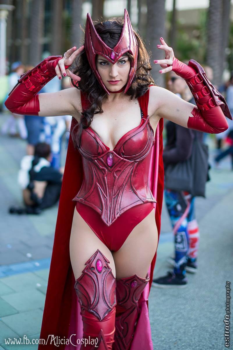 Scarlet Witch - Hex by Vert-Vixen.deviantart.com on @deviantART ...