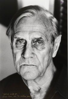 Patrick Victor Martindale White (1912-1990) - English-born Australian writer. Photo 1980 by William Yang