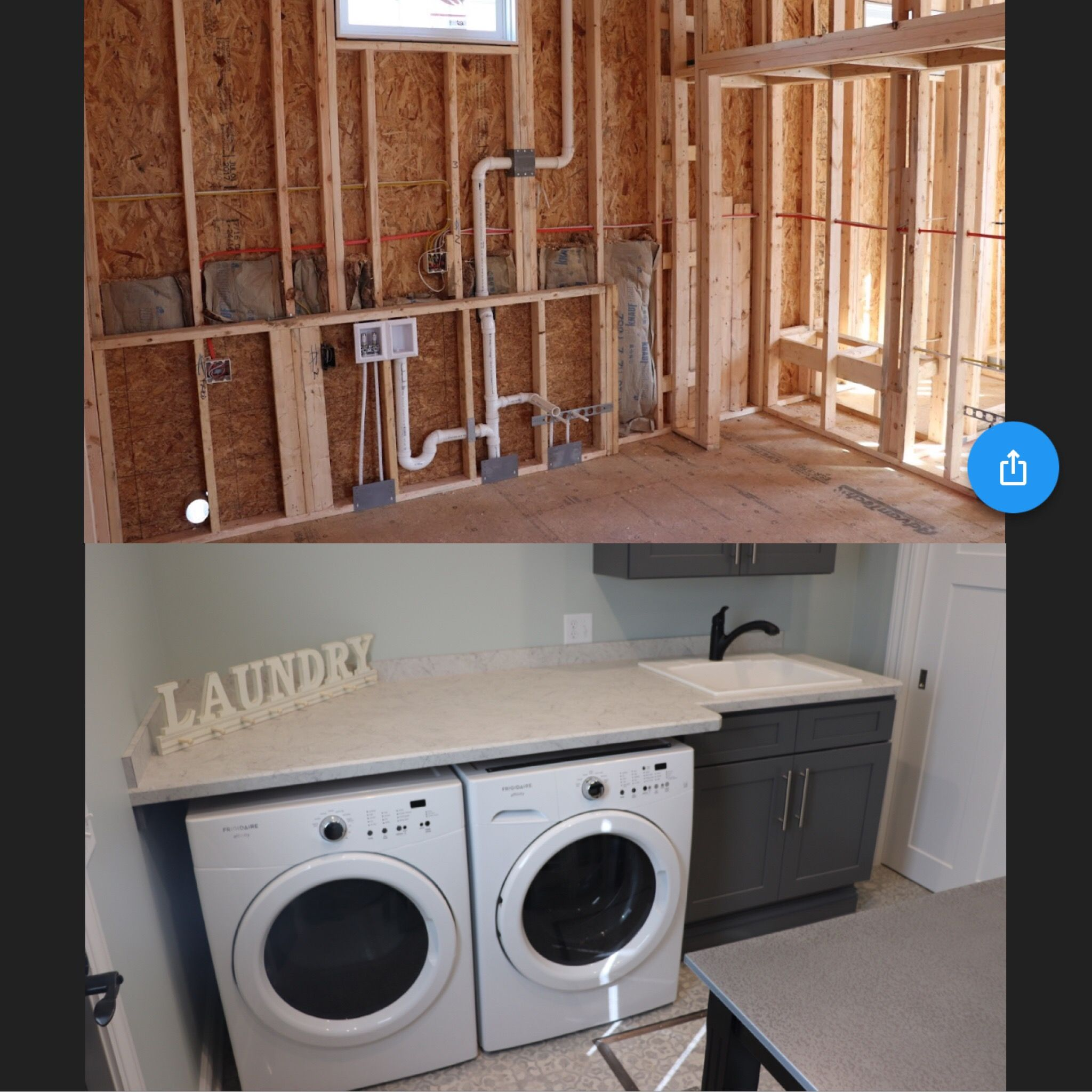 First Floor Laundry Room Addition By J J Plumbing Heating