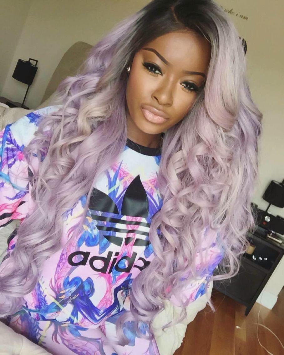 pinterest: @ princessishereo ✨ | ( hair laid ) | hair, dyed