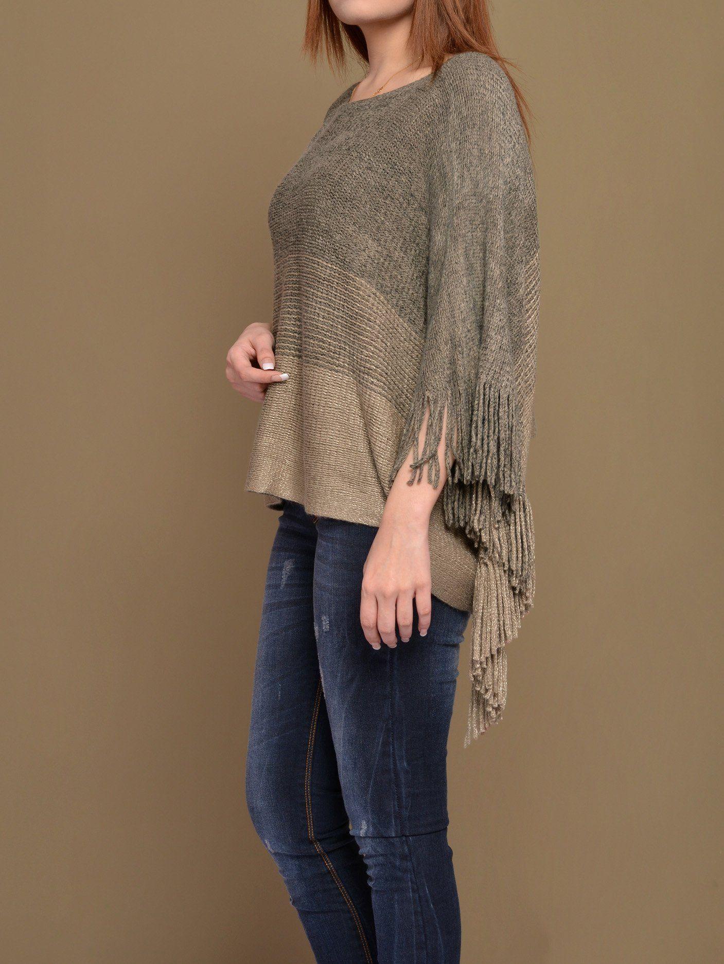Women s Woolen Winter Poncho Price in Pakistan  2a616977a