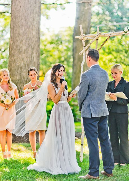 Everything You Need To Know About Writing Your Own Wedding Vows Brides