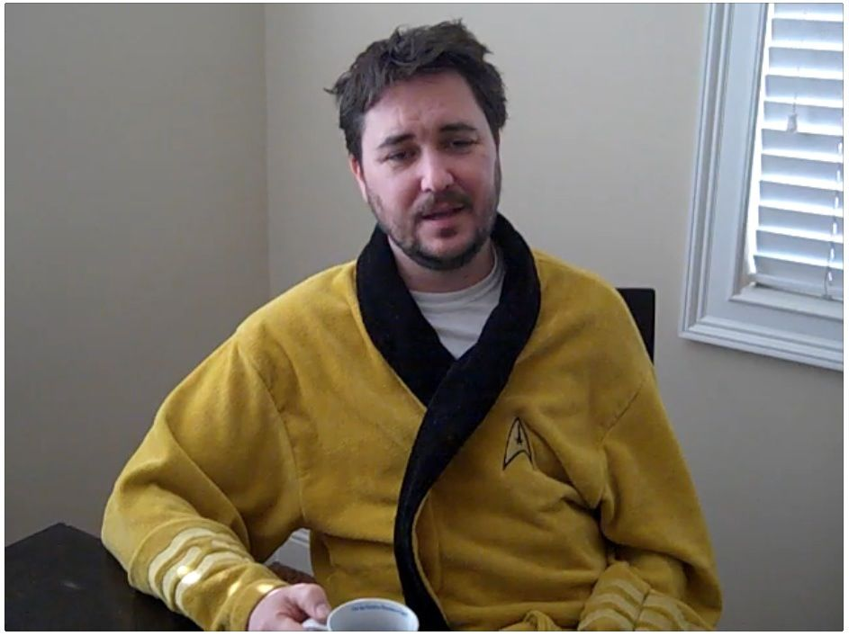 Wil Wheaton\'s robe! I\'m dying... | Fandom Explosion | Pinterest ...