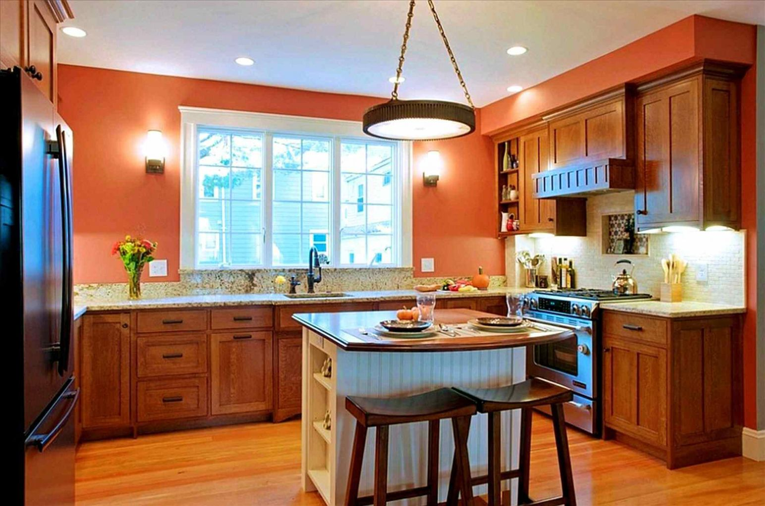 100+ Country Kitchen Color Schemes - Cheap Kitchen island Ideas ...