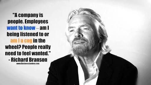 Richard Branson Quotes Employees Clients Google Search