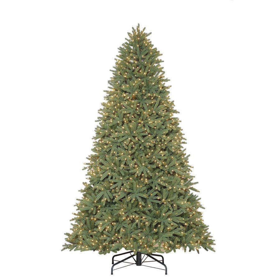Holiday Living 9 Ft Pre Lit Mckinney Fir Artificial Christmas Tree