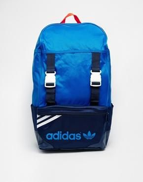 1f09dbed1818 Adidas Zx Backpack - Blue