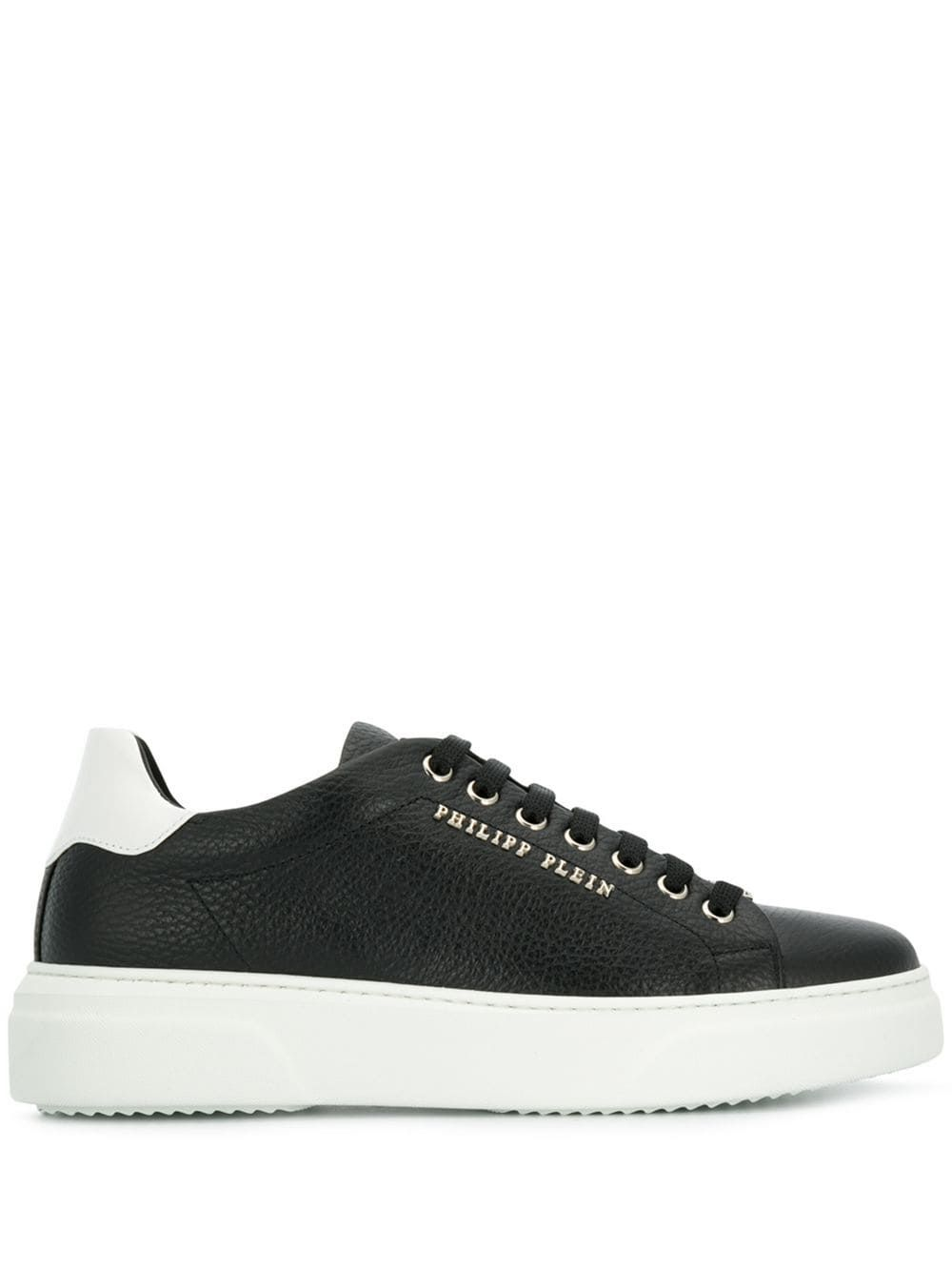 PHILIPP PLEIN PHILIPP PLEIN LO TOP SNEAKERS ORIGINAL BLACK