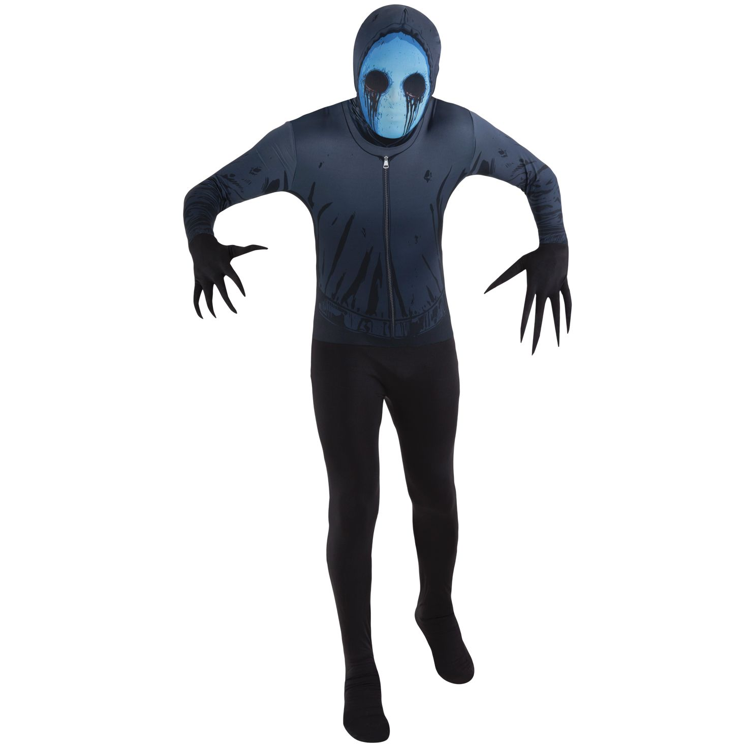 Kids Eyeless Jack Morphsuit Creepy halloween costumes