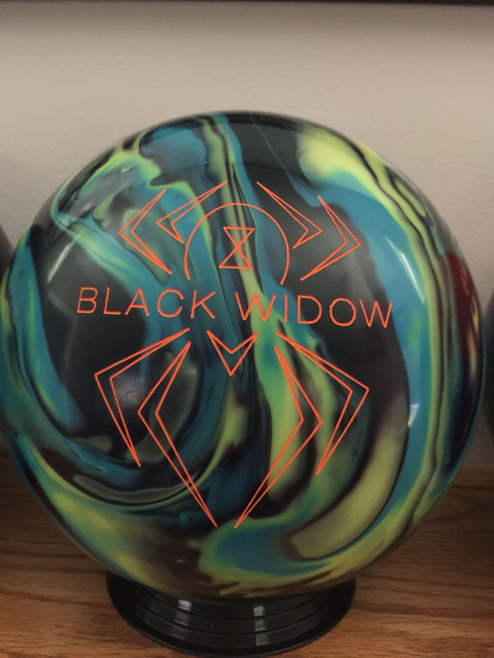 Team Sports Hammer Black Widow Urethane Bowling Ball Nib 1st