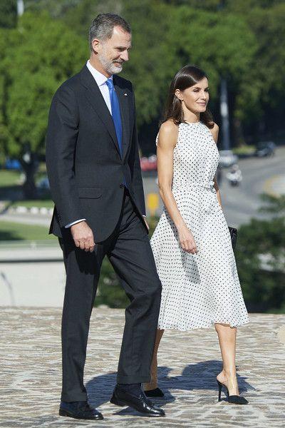 Queen Letizia of Spain Photos Photos: Day 3 - Spanish Royals Visit Cuba #visitcuba