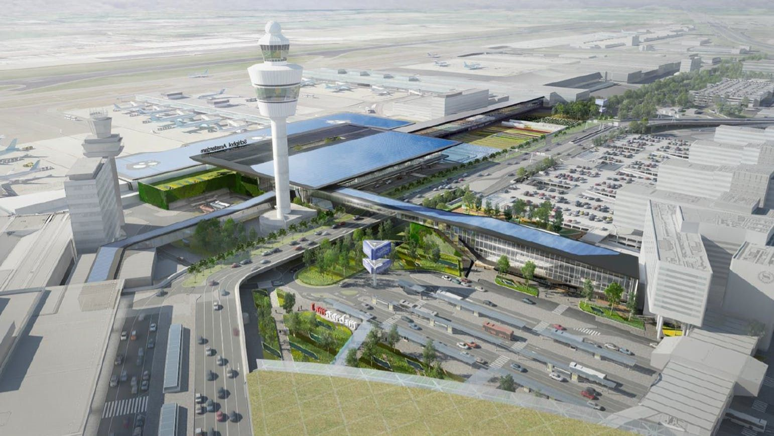 Schiphol airport expansion entrusted to Aecom 21