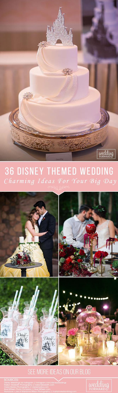 36 Charming Ideas For Disney Wedding   Disney weddings and Weddings