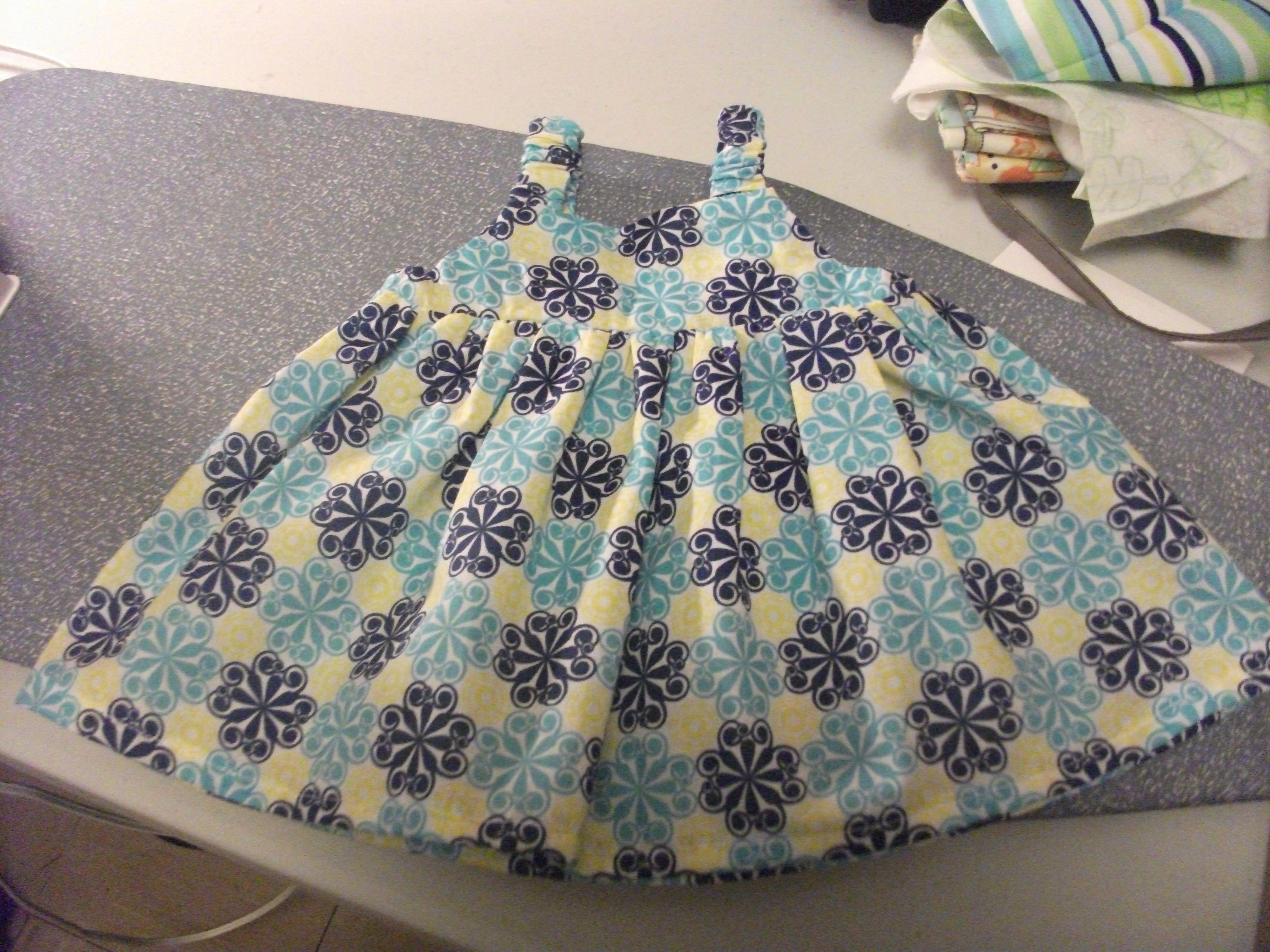 basic dress made for my granddaughter Natalie