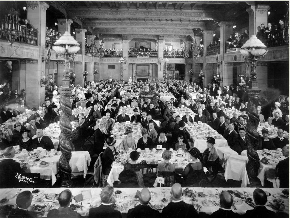 Banquet held in the lobby Liberty lake, Spokane, Hometown