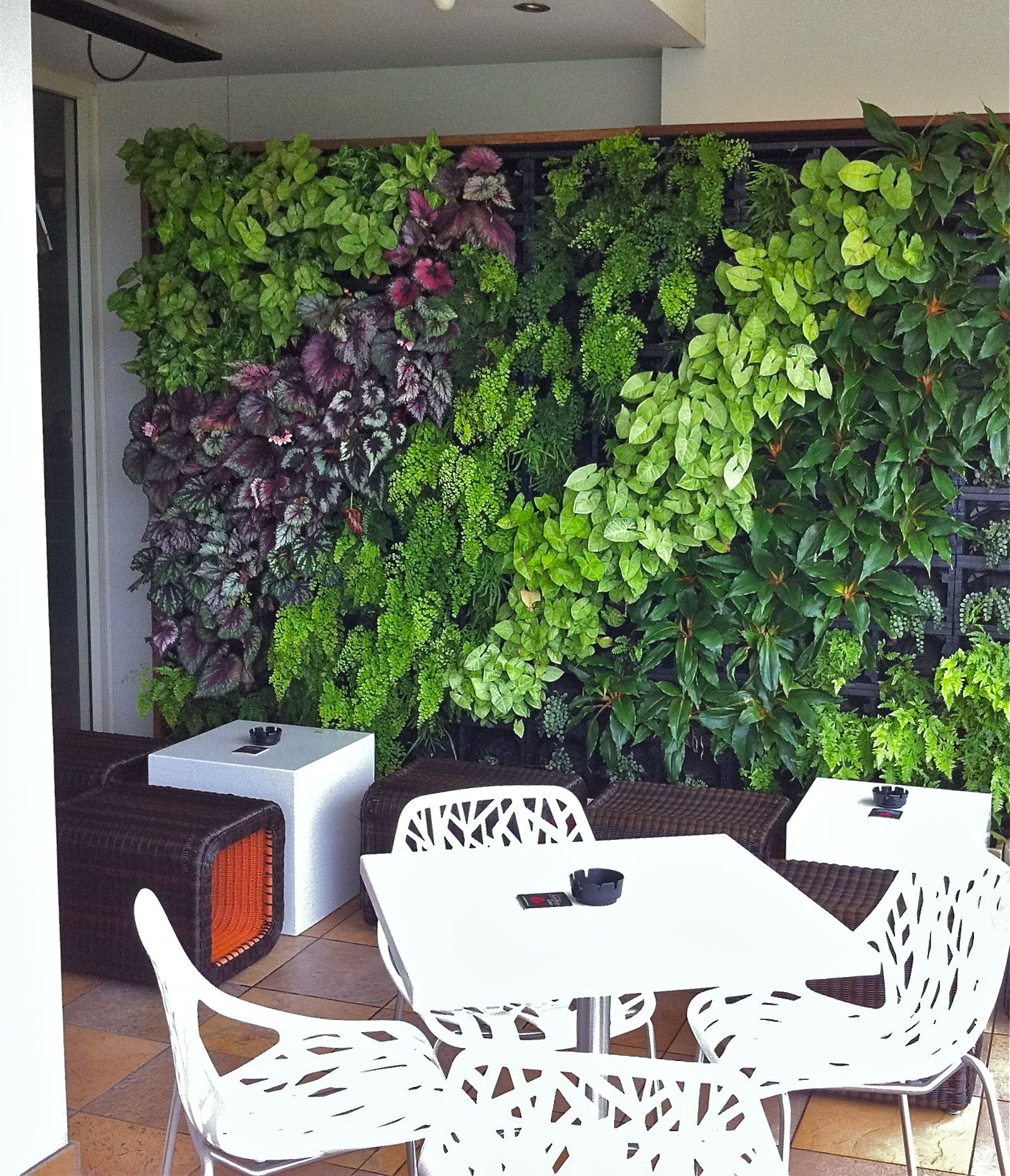 Green wall garden green roof garden vertical garden Indoor living wall herb garden