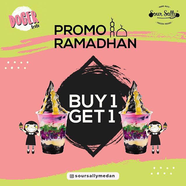 Sour Sally Medan Soursallymedan Ramadan Buy 1 Get 1 Froyo