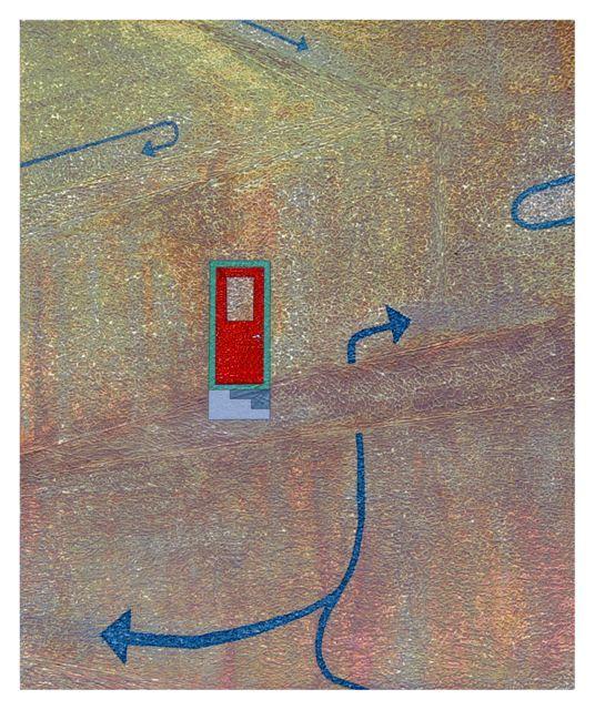 Door // Mixed media, 2002 www.philipmadeley.com