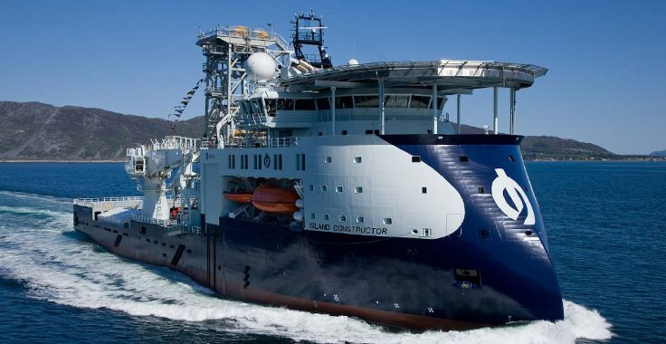 offshore support and work vessels | ... SX121 Offshore Construction Vessel built by Ulstein Verft in 2008