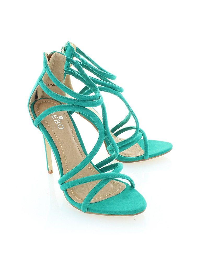 5717ee168f251 Zelené semišové sandále Tara 4 - Pre-Sale - PROMO   Topankovo.sk   Style