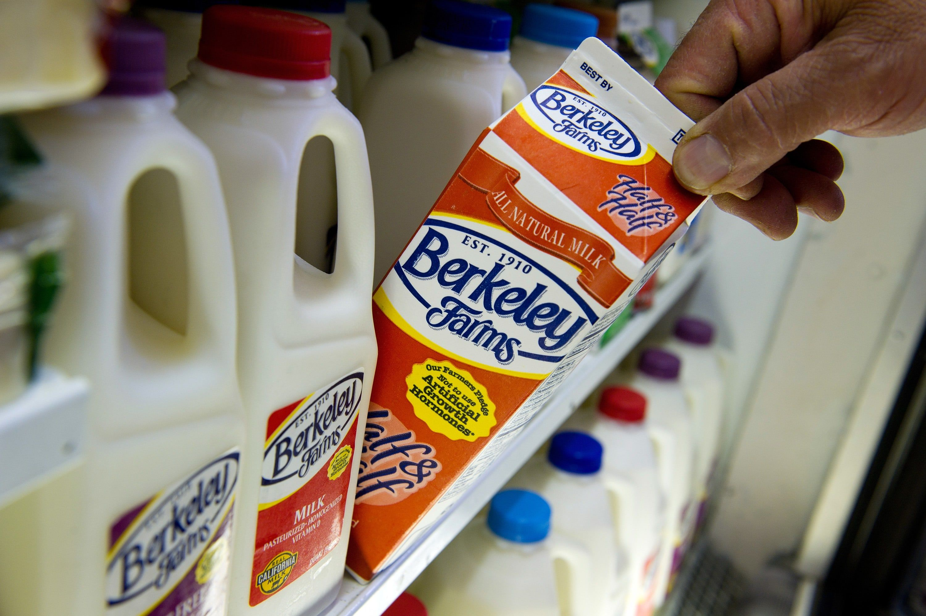 Dean Foods, America's biggest milk producer, files for