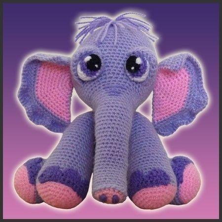 Baby Elephant Amigurumi Crochet Pattern – Free Amigurumi Patterns ... | 450x450