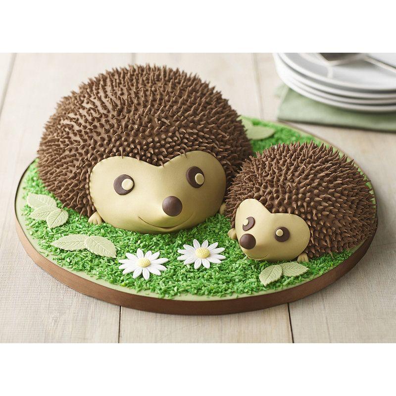 Lakeland 20cm hemisphere cake pan hedgehog cake cake
