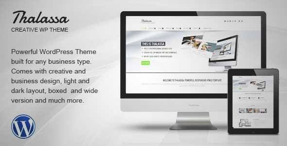 Download and review of Thalassa Multipurpose Responsive Wordpress ...