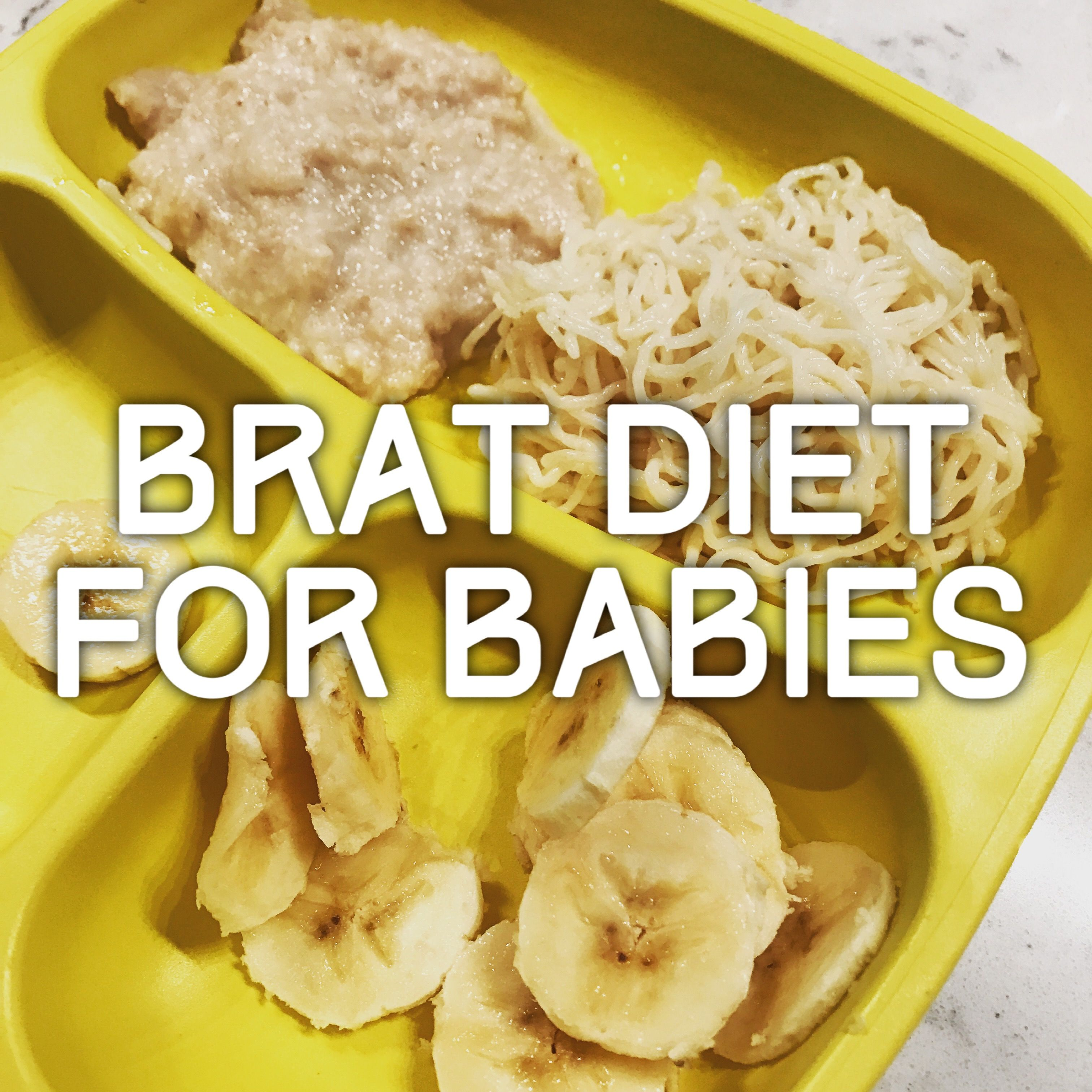 brat diet recipes for toddlers