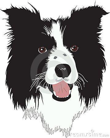 Cartoon Dog Stock Photos Images Pictures 26 220 Images Page 5 Border Collie Art Dog Stock Photo Cartoon Dog