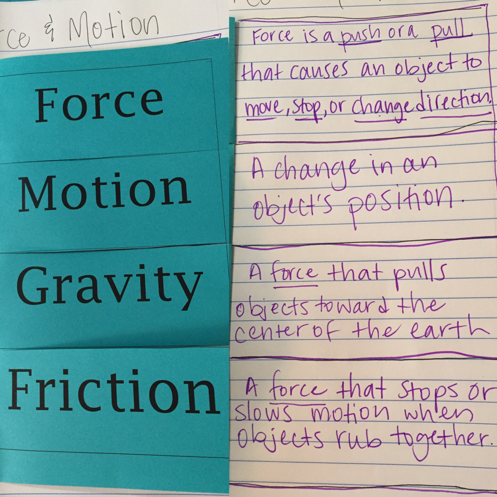 Yesterday We Continued Our Unit On Force And Motion The