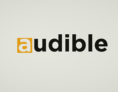Check Out New Work On My Behance Portfolio Audible Logo Http Be Net Gallery 78190183 Audible Logo Logos Audible Behance Portfolio
