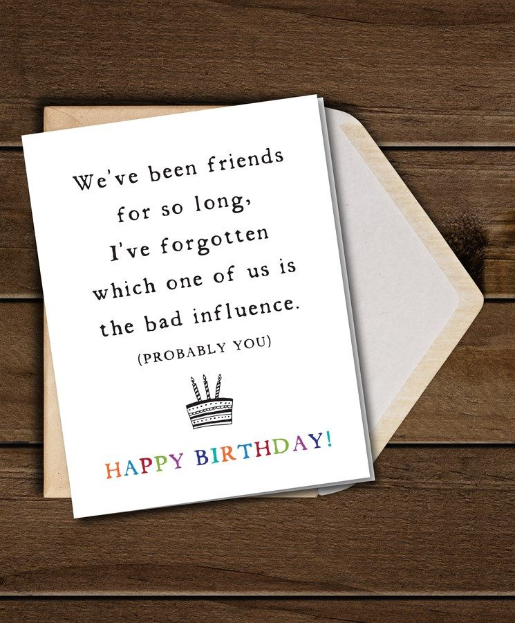 Sarcastic Greeting Cards Set Of 10 Envelopes Best Friend Birthday Cards Birthday Cards For Friends Funny Birthday Cards