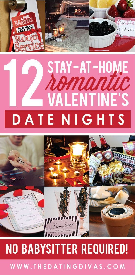 0611a7643a These are such creative at-home date night ideas! Can t wait to have a  romantic evening at home this year!!!