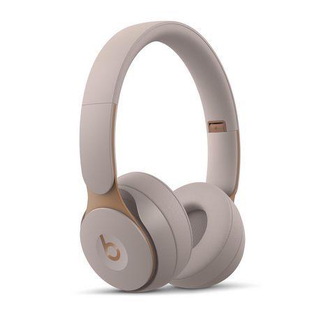 Beats By Dr Dre Solo Pro Wireless On Ear Headphones Grey In Ear Headphones Headphones Beats
