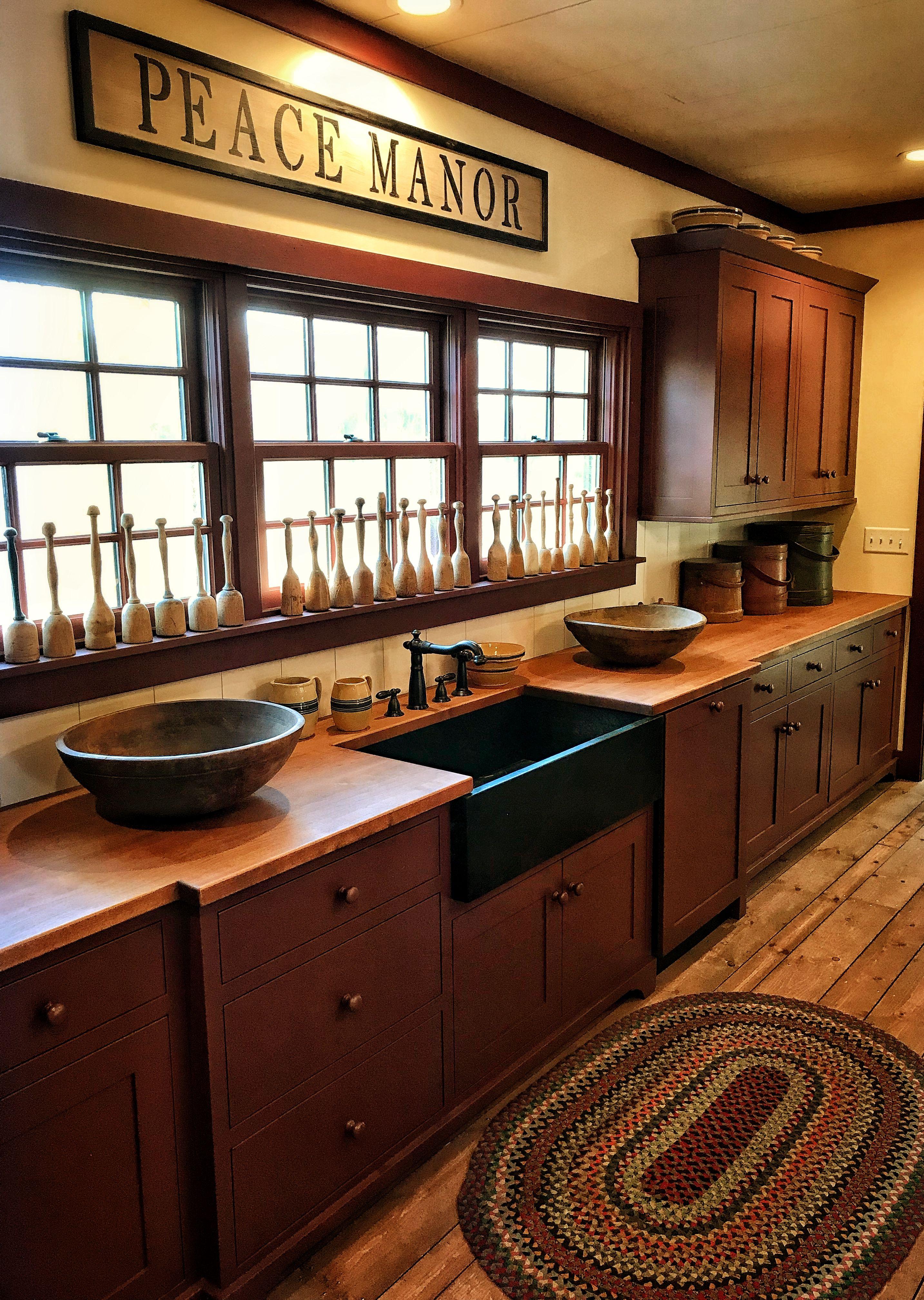Primitive Kitchen Country Kitchen Designs Rustic Country Kitchens Country House Decor