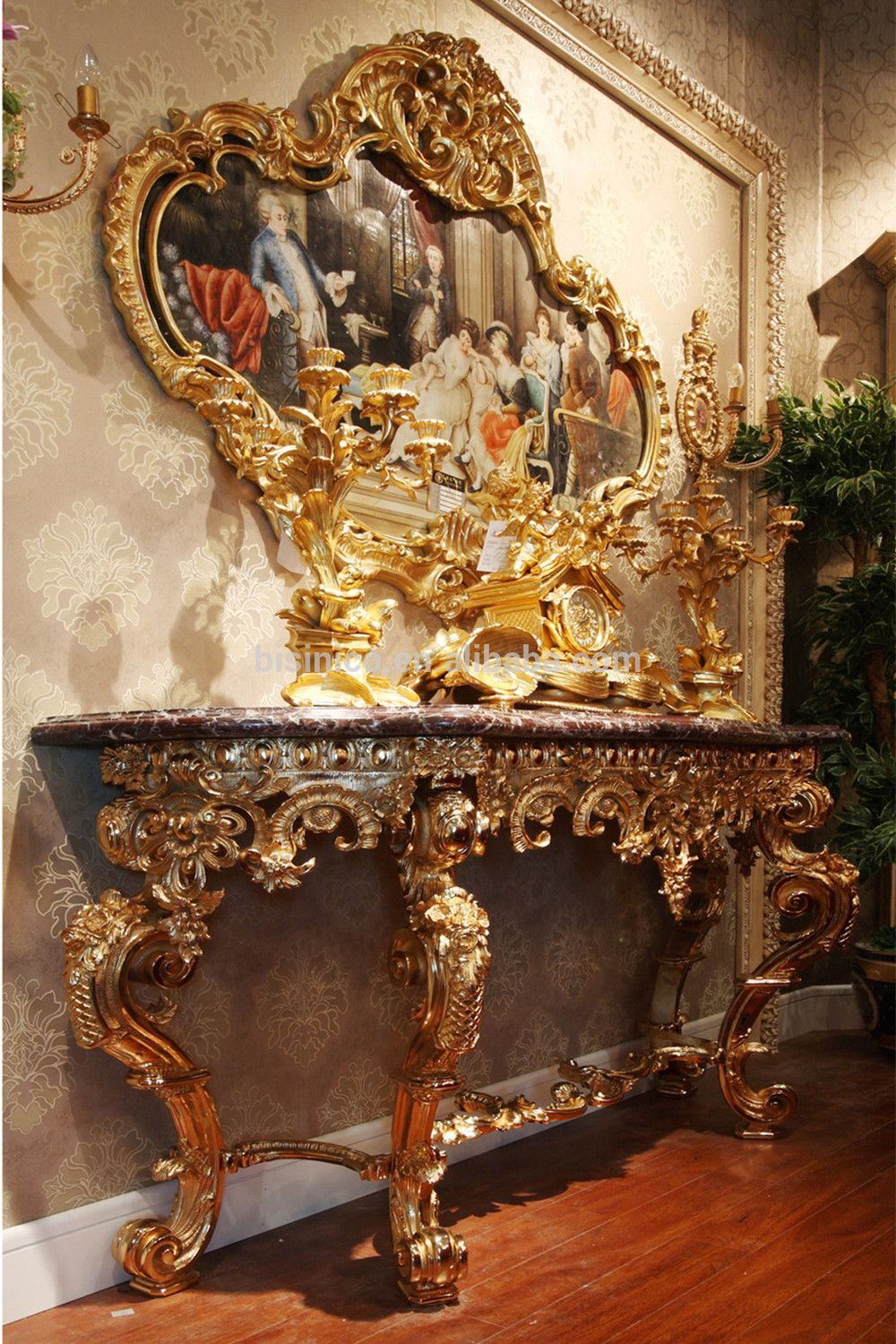 hallway table and mirror. Luxury-French-Brass-Hallway-Console-Table-Mirror.jpg ( Hallway Table And Mirror A