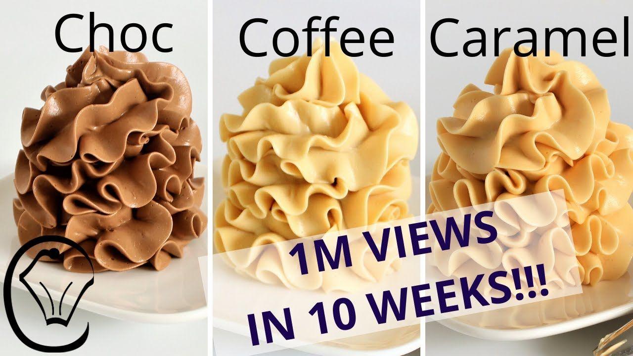 Condensed milk buttercream compilation chocolate coffee
