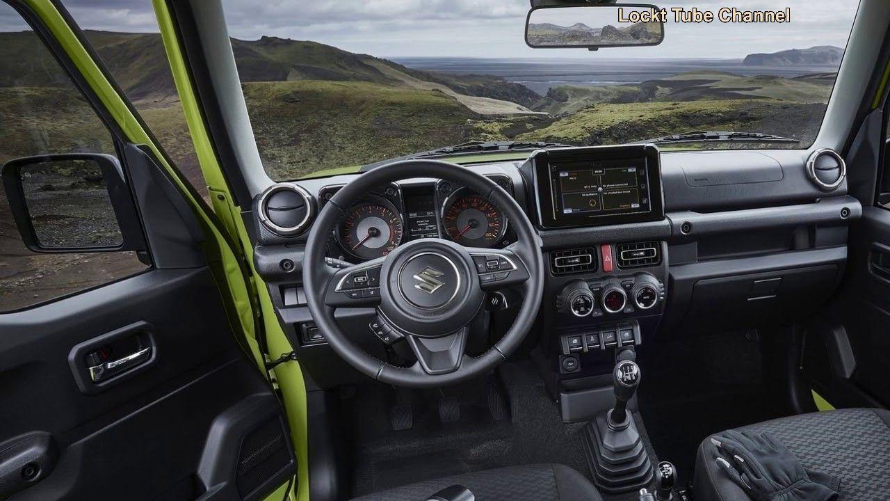 2019 Suzuki Jimny 4wd All New 4wd Suzuki Jimny Interior Exterior 2019 Jimny Suzuki Camionetas