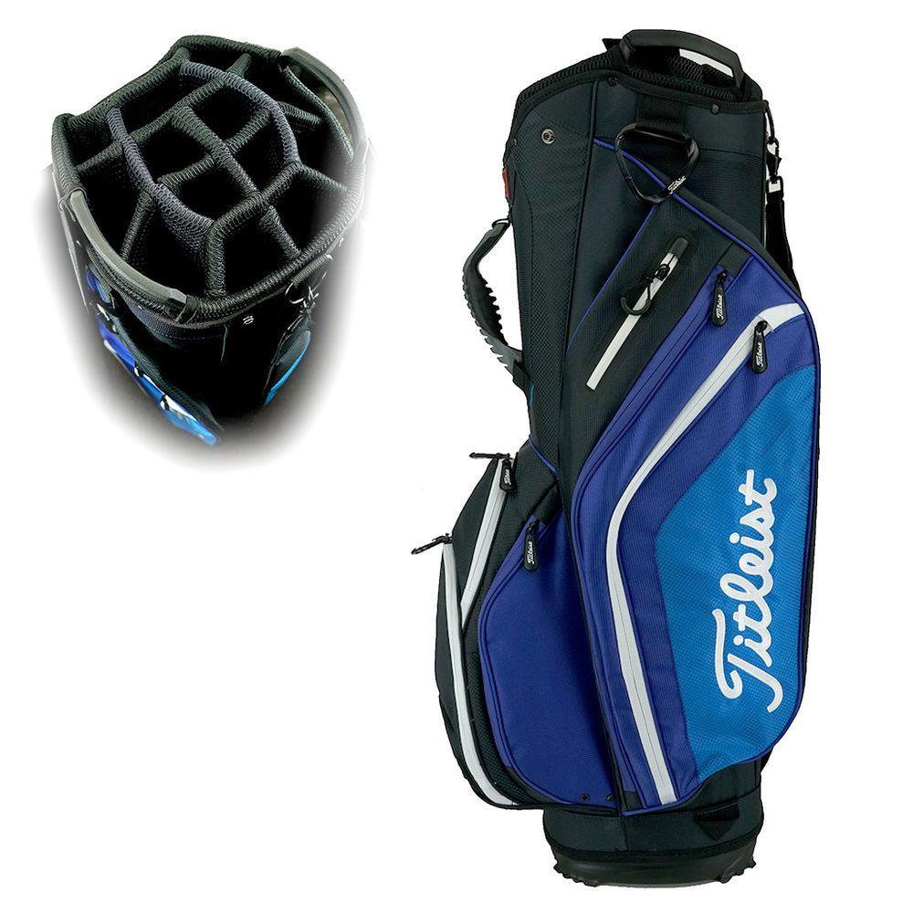 8c13a0ec34 Titleist Lightweight Cart Golf Bag Black/Blue/White (eBay Link ...