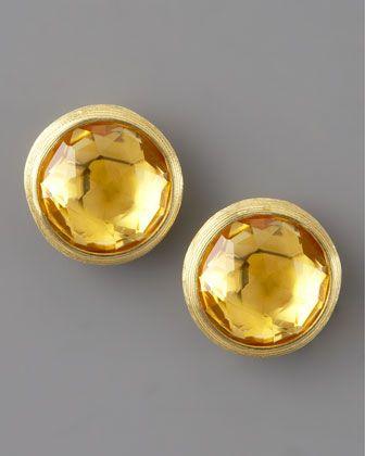 Marco Bicego Jaipur Citrine Stud Earrings mMLrky