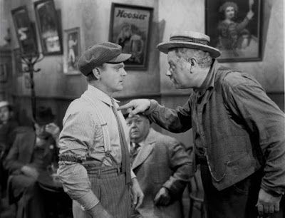 James Cagney and Alan Hale Sr. in The Strawberry Blonde.....Uploaded By  www.1stand2ndtimearound.etsy.com   James cagney, Strawberry blonde,  Hollywood pictures