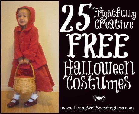 31 Days of Living Well u0026 Spending Zero | Free Halloween Costumes Day ...  sc 1 st  Pinterest & Free Halloween Costumes Day 17 | DIY Halloween Halloween costumes ...