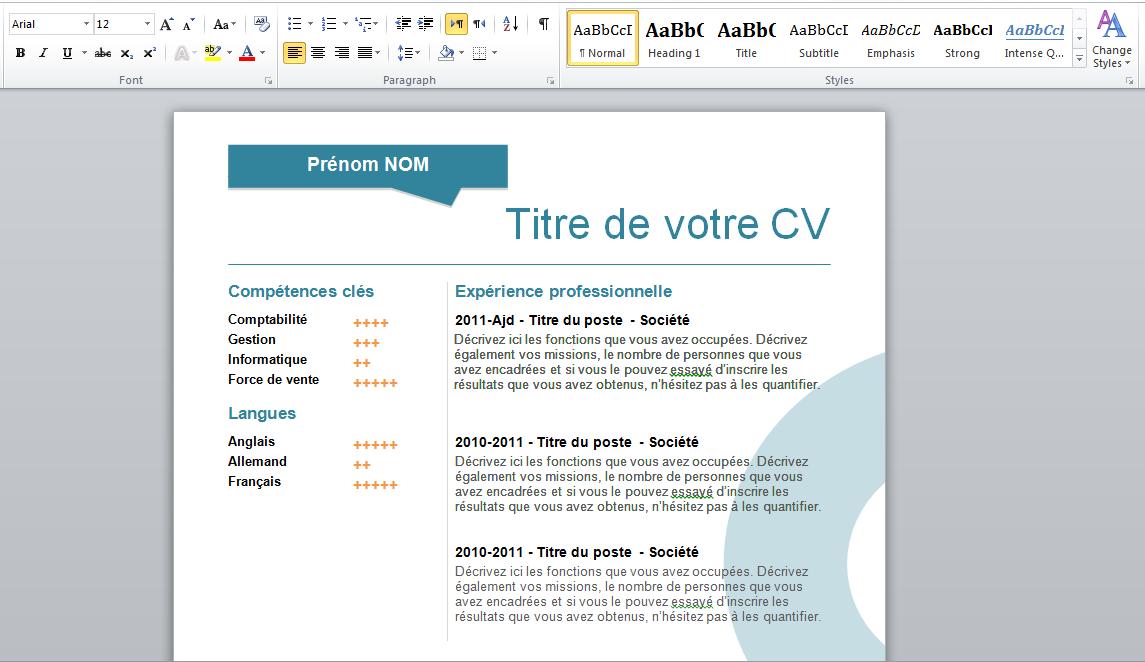 resume builder word - Gidiye.redformapolitica.co