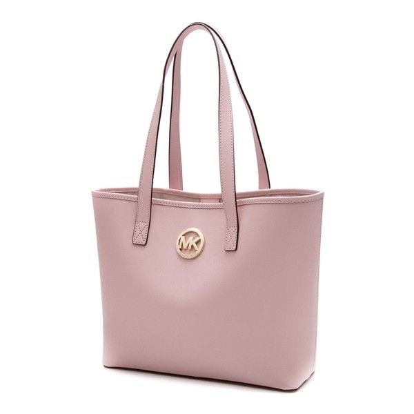 180 Liked On Polyvore Featuring Bags Handbags Tote Light Pink Michael Kors Pocket Purse Preowned Bag And