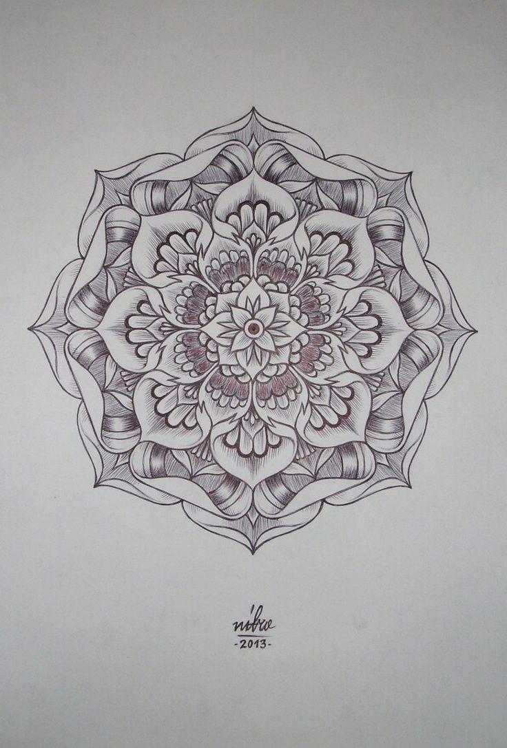 Tattoo Idea Mandala Mandala Para Pintar Mandala For