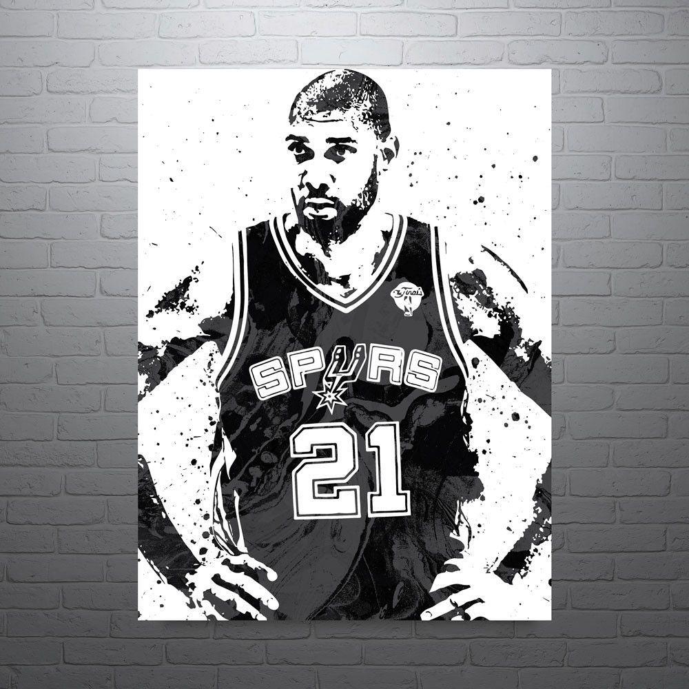 41d84b413 Tim Duncan San Antonio Spurs Poster